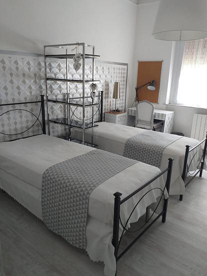 Disponibili due camere singole ed una doppia