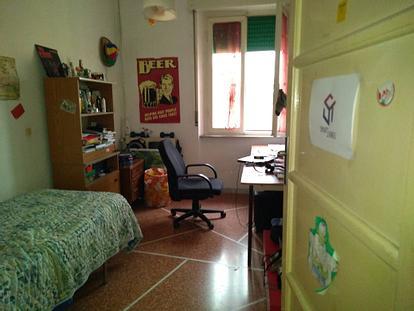 Camere appartamento zona stazione FS/centro [NV]